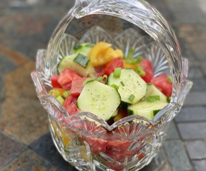 New Summer Garden Salad Recipe for Your Labor Day Picnic!