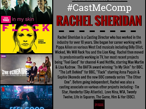 #CastMeComp with Rachel Sheridan