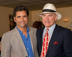 John Stamos and Dr. Robert Nagourney