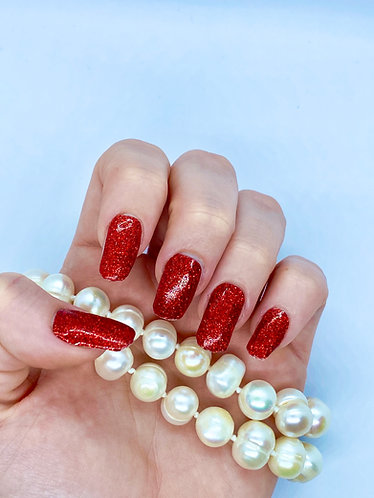 Shiny Red Nagelfolie