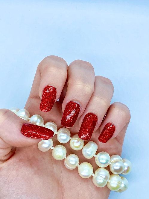 Red Luxury Nagelfolie