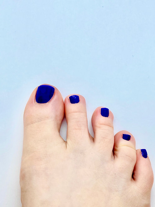 Dark Blue Nagelfolie