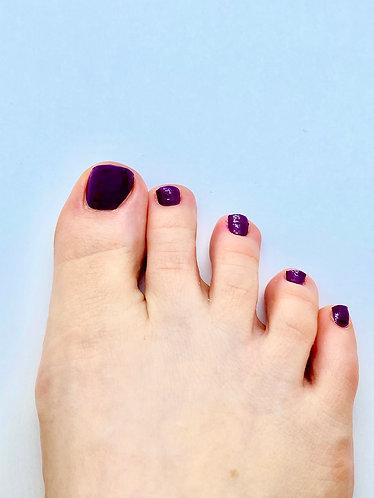 Monochrome Violet Nagelfolie