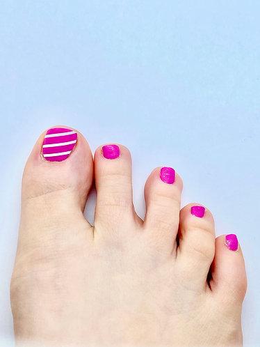Girly Pink Nagelfolie