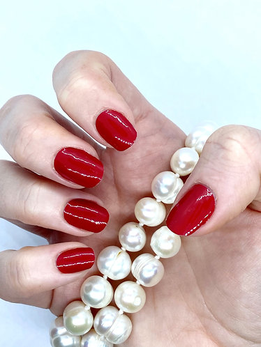 Queens Red Premium Nagelfolie