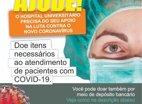 Campanha de doações em favor do Hospital Universitário continua