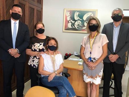 FJMONTELLO recebe novos gestores do Banco do Brasi