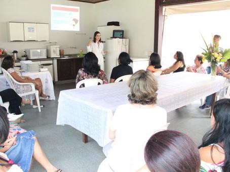 Palestra aborda Fatores de Risco e Prevenção contra o Câncer de Mama