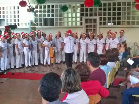 FJMONTELLO participa de celebração de natal do Hospital Universitário