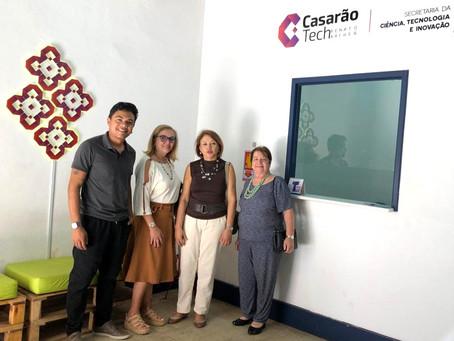 Diretoria-executiva da FJMONTELLO visita Casarão Tech em São Luís