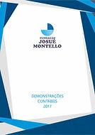 CAPA_DEMONSTRATIVOS_CONTÁBEIS_2017_PARA
