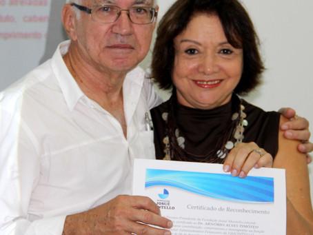 Conselho e Diretoria da FJMONTELLO prestam homenagens a ex-gestor