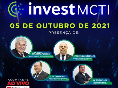 Ministério da Ciência, Tecnologia e Inovação lança plataforma InvestMCTI