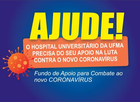 AJUDE!  Campanha de apoio ao Hospital Universitário é intensificada