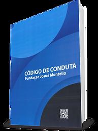 Capa do código de conduta da Fundação mJosué Montello