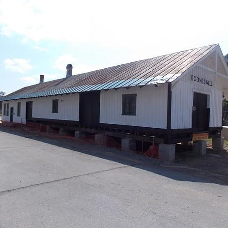 Boones Mill Depot Stabilization