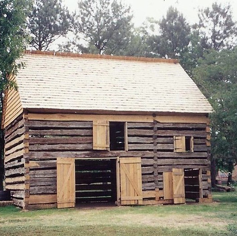 Log Barn Reconstruction