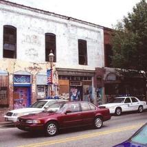 North Trade Street Facade Before