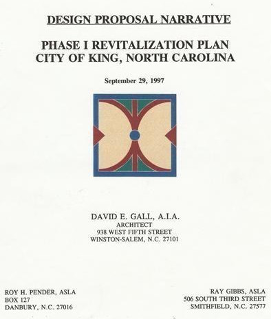 King Revitalization Plan Report