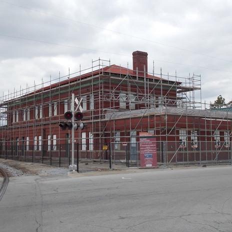 New Bern Roof Stabilization