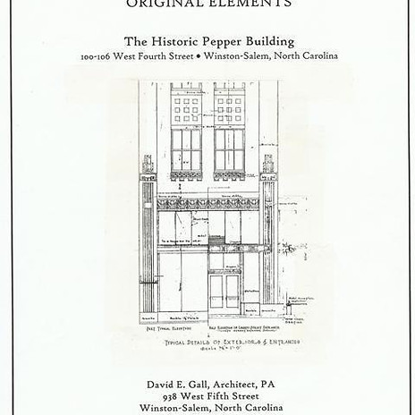 Pepper Building Survey