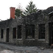 Pulaski Train Station Fire Damage