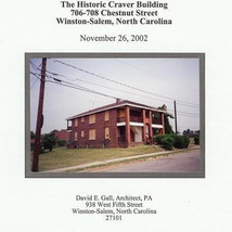 Craver Building Report