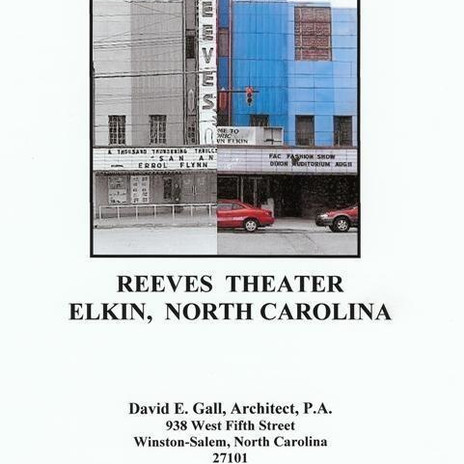 Reeves Theater Report