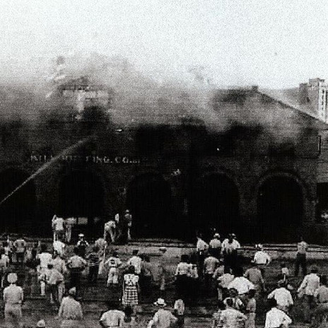 Cape Fear Depot Fire Damage