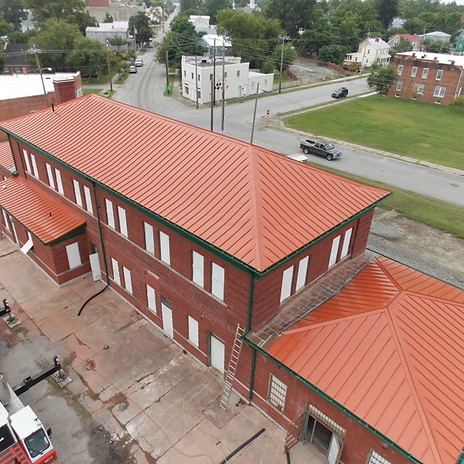 New Bern Roof Stabilization