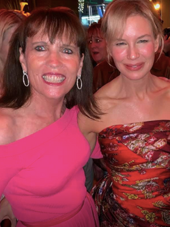 Congratulating Renee on an Oscar worthy performance!  'JUDY' Premiere, Los Angeles CA