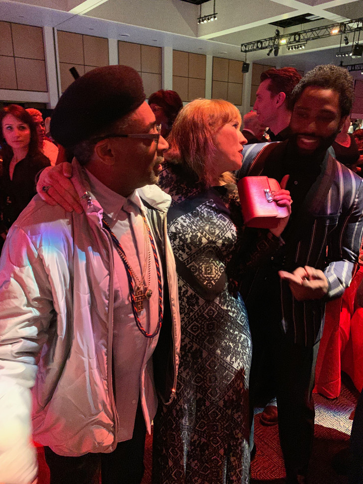 With Spike Lee and John David Washington