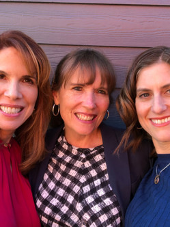 Snapping a photo on set with my dear friends, Dr. Ilene Ruhoy and Dr. Gillian Ehrlich, in Seattle, WA.