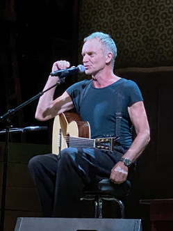 Incredible private performance after the show, bravo STING! I highly recommend seeing him live.