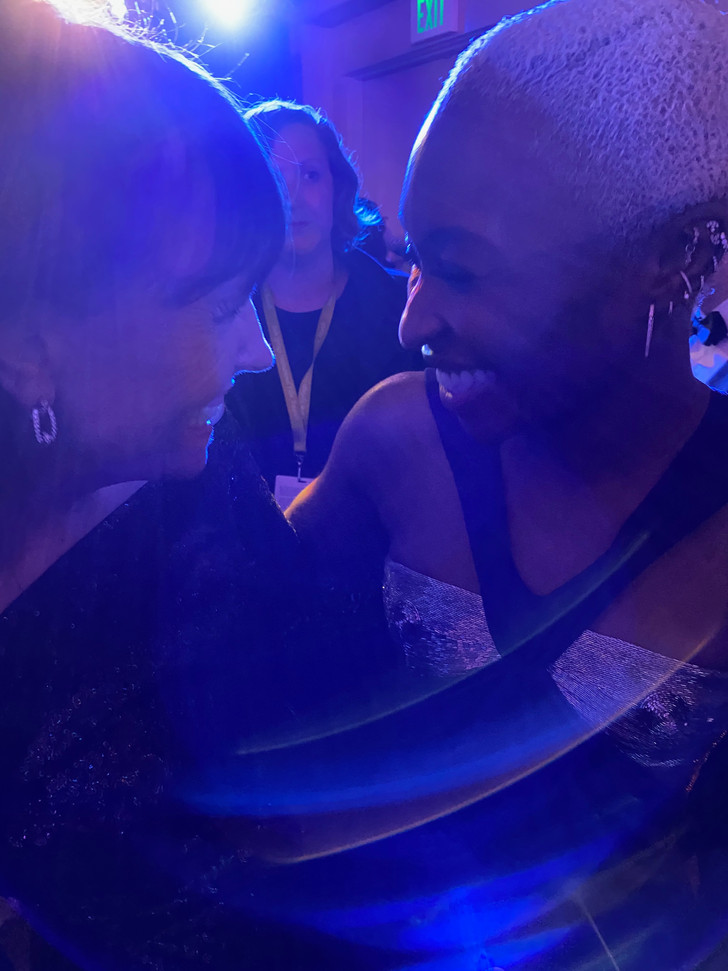 Chatting with Cynthia Erivo at the Palm Springs International Film Festival