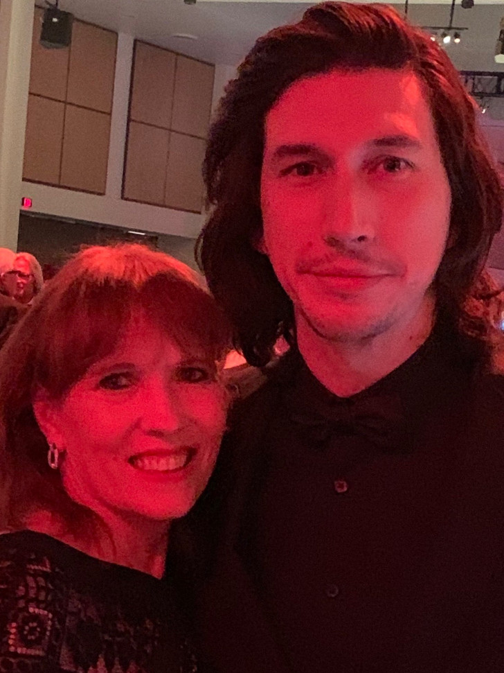 Loved meeting Adam Driver!