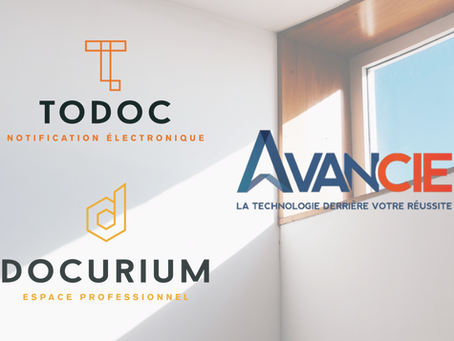 Communiqué - Lafortune Technologies annonce la vente des applications Docurium et Todoc à Avancie