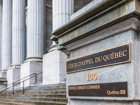 Un tout nouveau greffe électronique pour la Cour d'appel du Québec!