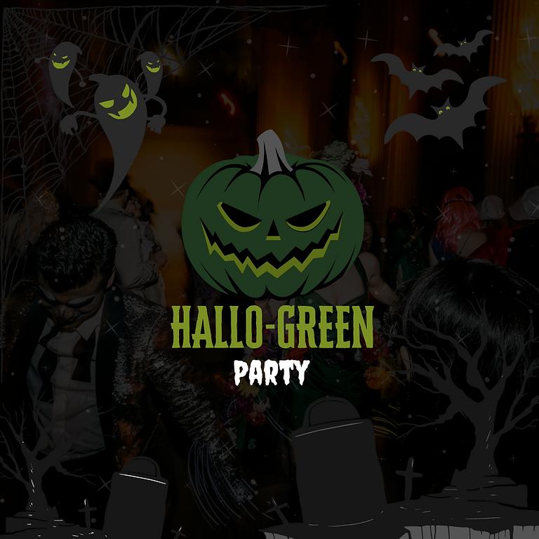 HALLO-GREEN COSTUME PARTY