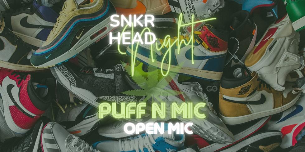 """PUFF N MIC - """"SNKR Head"""""""