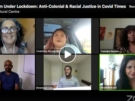 Activism Under Lockdown: Anti-Colonial and Racial Justice in COVID Times