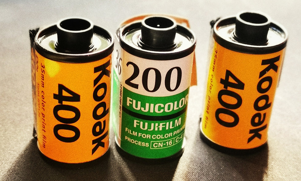 C-41 Film Processing and Scanning (Dev & Scan)