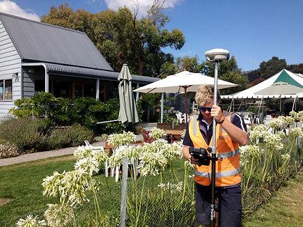Cadastral Surveying at Puddleduck Vineyard, Hobart