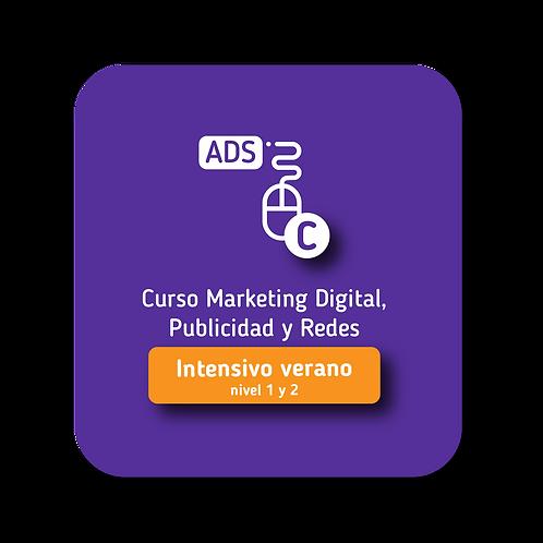 Marketing Digital, Publicidad y Redes Intensivo Verano 2020