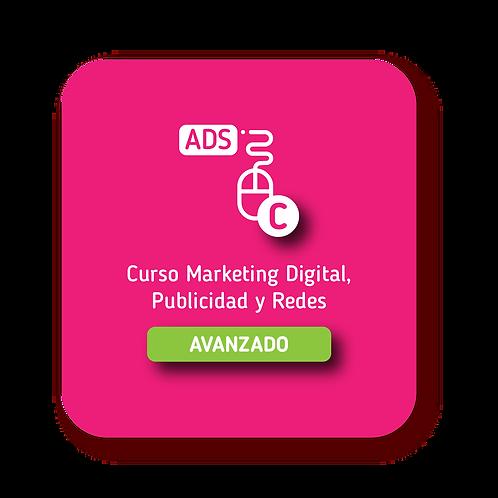 Marketing Digital, Publicidad y Redes Avanzado