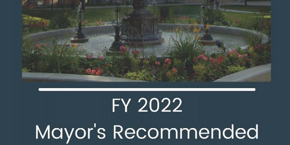 Salt Lake City Council Budget Meeting #2