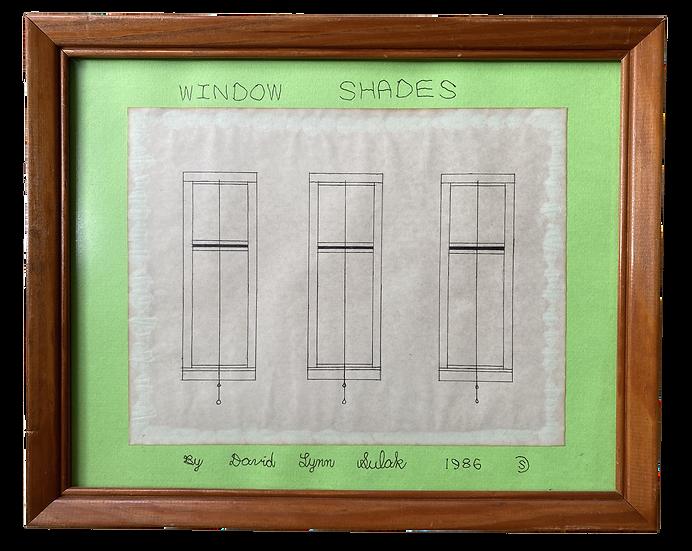"""Window Shades"" by David Sulak Original Art"