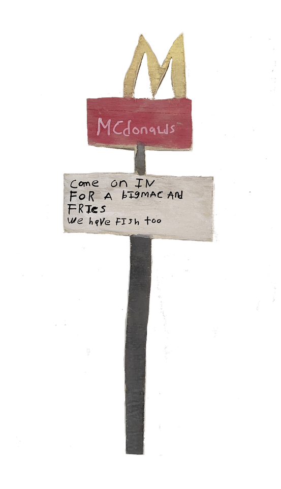 McDonald's Sign by Rick Fleming