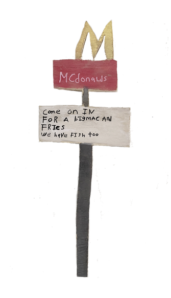 McDonald's Sign by Rick Fleming
