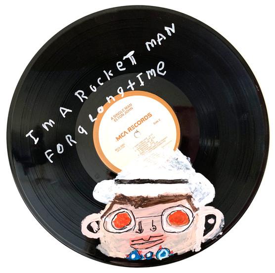 Elton John by Rick Fleming